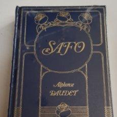 Libros de segunda mano: SAFO - ALPHONSE DAUDET - TDK108. Lote 182910648