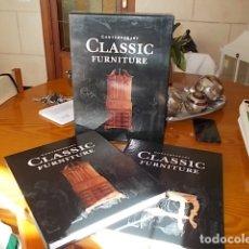 Libros de segunda mano: CONTEMPORANY CLASSIC FURNITURE . 2 TOMOS + ESTUCHE. INSTITUTO MONSA . 2001 . EDICIÓN DE LUJO. Lote 182912937