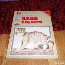 Libros de segunda mano: LIBRO Nº 13 DE LAS AVENTURAS DE ZARO ( ZARO Y EL GATO ) DE AMARO CARRETERO - EDICIONES SM 1983 -. Lote 182945007