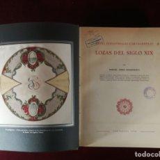 Libros de segunda mano: ORIGINAL EDICION LIMITADA 1000 UNIDADES - LOZAS CARTAGENERAS DEL SIGLO XIX - 1960. Lote 182963548