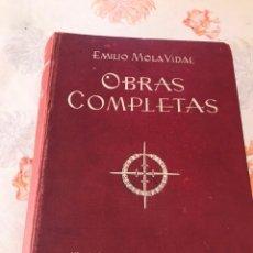 Libros de segunda mano: OBRAS COMPLETAS EMILIO MOLA VIDAL 1940. Lote 182986600