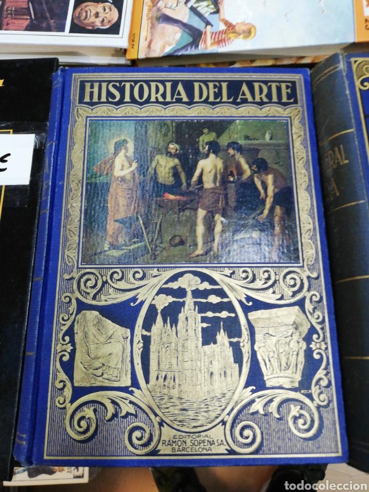 HISTORIA DEL ARTE, J. F. RAFOLS, CON 420 GRABADOS, AÑO 1939 (Libros de Segunda Mano - Historia - Otros)