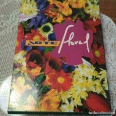 Libros de segunda mano: ARTE FLORAL LOTE 4 TOMOS. Lote 183006875