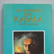 Libros de segunda mano: LOS MISTERIOS DE LA KABALA. FONTAINE. Lote 183027112