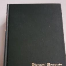 Libros de segunda mano: BOCCACCIO - EL DECAMERON - TDK108. Lote 183035570