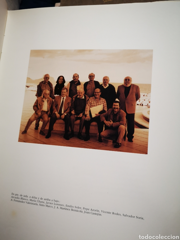 Libros de segunda mano: DE DONDE NACE EL SUEÑO - BLASCO CARRASCOSA. J.A.; CABALLERO BONALD, J.M.; CERDÁN TATO, ENRIQUE - Foto 2 - 183041792
