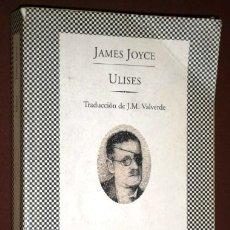 Libros de segunda mano: ULISES POR JAMES JOYCE DE ED. LUMEN / TUSQUETS EN BARCELONA 1994 PRIMERA EDICIÓN. Lote 183177086