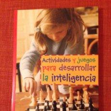 Libros de segunda mano: ACTIVIDADES Y JUEGOS PARA DESARROLLAR LA INTELIGENCIA. CEAC EDUCACIÓN INFANTIL.. Lote 183192828