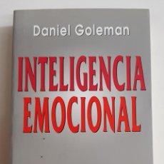 Libros de segunda mano: INTELIGENCIA EMOCIONAL - DANIEL GOLEMAN - TDK74. Lote 183211782