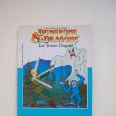 Livres d'occasion: DUNGEONS & DRAGONS - LOS JÓVENES DRAGONES - EL REY SIN CORONA Nº 5 - LINDA JACOBS - TIMUN MAS 1985. Lote 183212370
