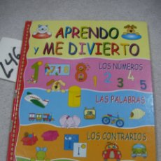 Libros de segunda mano: APRENDO Y ME DIVIERTO. Lote 183259032