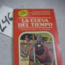 Libros de segunda mano: ELIGE TU PROPIA AVENTURA - LA CUEVA DEL TIEMPO. Lote 183259517