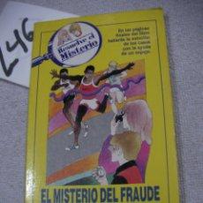 Libros de segunda mano: RESUELVE EL MISTERIO - EL MISTERIO DEL FRAUDE EN EL MARATON. Lote 183259725