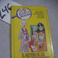Libros de segunda mano: RESUELVE EL MISTERIO - EL MISTERIO DE LOS DIAMANTES DESAPARECIDOS. Lote 183259820