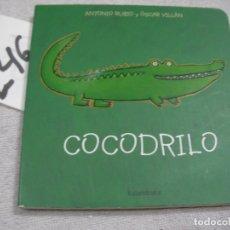 Libros de segunda mano: COCODRILO. Lote 183260430