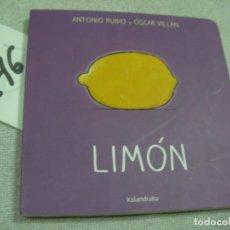 Libros de segunda mano: LIMON. Lote 183260500