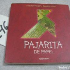 Libros de segunda mano: PAJARITA. Lote 183260547