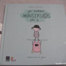 Libros de segunda mano: YO MATARE MONSTRUOS POR TI. Lote 183260761