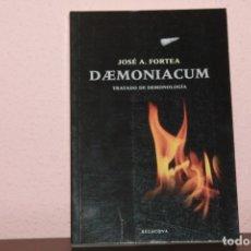 Libros de segunda mano: TRATADO DE DEMONOLOGIA. Lote 183278682