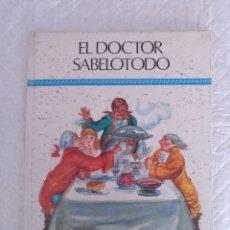 Libros de segunda mano: EL DOCTOR SABELOTODO. COLECCIÓN AGATA. SUSAETA. LIBRO. Lote 183286453