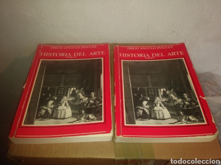 HISTORIA DEL ARTE TOMO I Y II, DIEGO ANGULO IÑIGUEZ. 1982. MADRID (Libros de Segunda Mano - Bellas artes, ocio y coleccionismo - Otros)