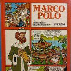 Libros de segunda mano: MARCOPOLO. ENZO MARCIANTE. EDITORIAL EVEREST. Lote 183292220