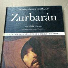 Libros de segunda mano: ZURBARÁN. OBRA PICTÓRICA COMPLETA.. Lote 183318242