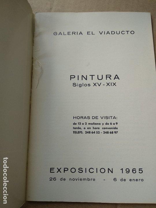 Libros de segunda mano: Galeria el viaducto siglos xv - xix - 1965 - Foto 2 - 183324068