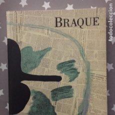 Libros de segunda mano: BRAQUE, CEUVRE GRAVE, CUBISMO. Lote 183330747