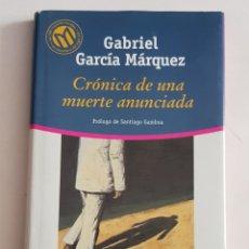 Libros de segunda mano: CRONICA MUERTE ANUNCIADA - MARQUEZ GABRIEL GARCIA - TDK102. Lote 183279028