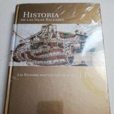 Libros de segunda mano: LAS BALEARES BAJO LOS AUSTRIAS (II) HISTORIA DE LAS ISLAS BALEARES Nº 11 (EL MUNDO) PRECINTADO. Lote 183336678