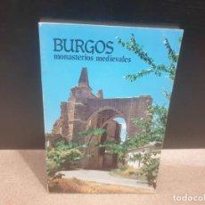 Libros de segunda mano: PAGINAS PARA NUESTRO PUEBLO.....BURGOS MONASTERIOS MEDIEVALES........1980............ Lote 183380221