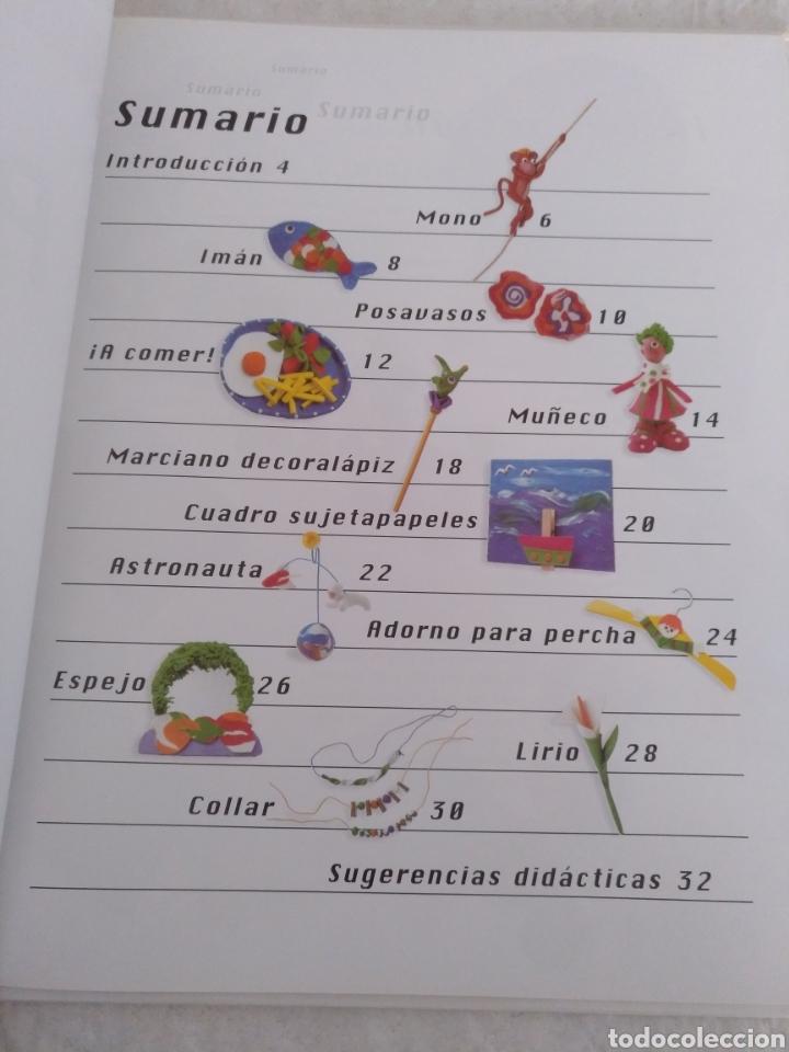 Libros de segunda mano: Plastilina. Manualidades. Libro - Foto 2 - 183405162