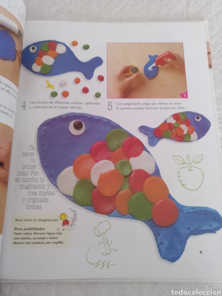 Libros de segunda mano: Plastilina. Manualidades. Libro - Foto 4 - 183405162