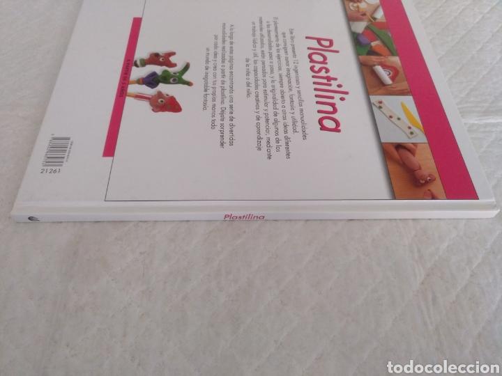 Libros de segunda mano: Plastilina. Manualidades. Libro - Foto 5 - 183405162
