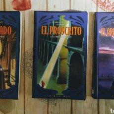 Libros de segunda mano: LIBROS,1,2,3,DE EL SEÑOR DEL TIEMPO.. Lote 183415386