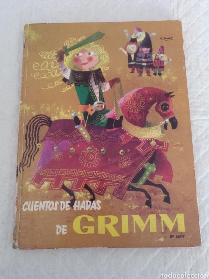 CUENTOS DE HADAS DE GRIMM. SEGUNDA SERIE. LIBRO (Libros de Segunda Mano - Literatura Infantil y Juvenil - Otros)