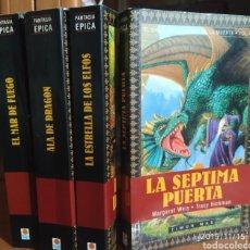 Libros de segunda mano: EL CICLO DE LA PUERTA DE LA MUERTE.1,2,3,7.. Lote 183417968