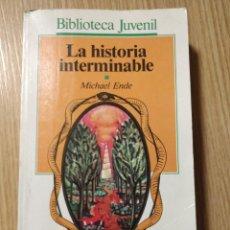 Libros de segunda mano: LA HISTORIA INTERMINABLE ** MICHAEL ENDE. Lote 183418790