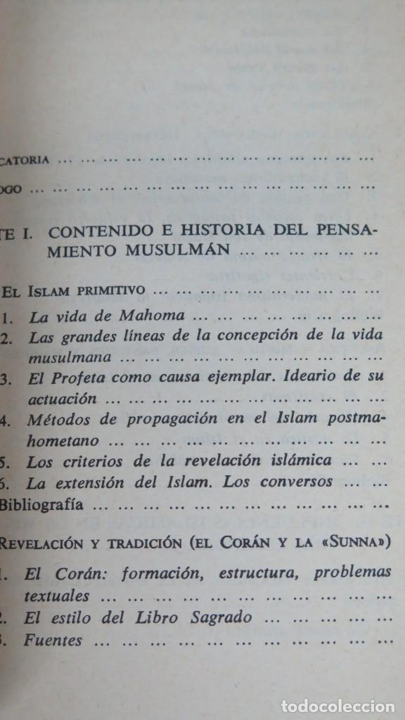 Libros de segunda mano: EL PENSAMIENTO DEL ISLAM. CRISTOBAL CUEVAS - Foto 2 - 183437802