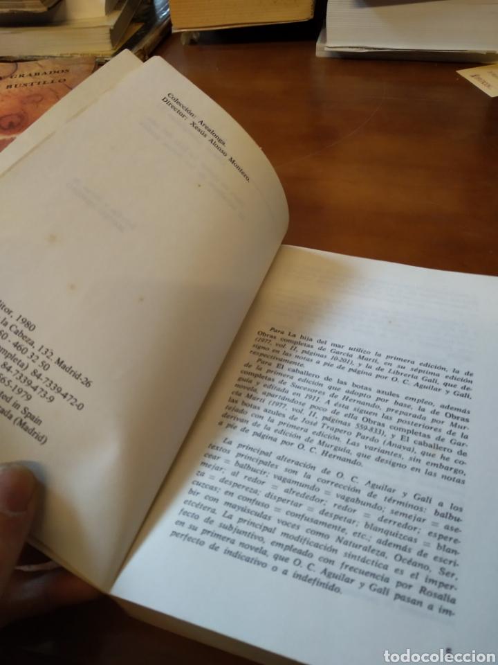 Libros de segunda mano: ROSALIA DE CASTRO. OBRA COMPLETA 2 - Foto 3 - 183473790