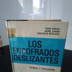 Libros de segunda mano: 37-LOS ENCOFRADOS DESLIZANTES, TECNICA Y UTILIZACION, 1973. Lote 183527843