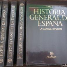 Libros de segunda mano: COLECCIÓN COMPLETA HISTORIA GENERAL DE ESPAÑA. Lote 183550510