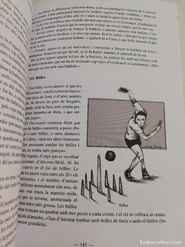 Libros de segunda mano: ELS ESPORTS I JOCS POPULARS TRADICIONALS DE LES ILLES BALEARS (FRANCESC AMENGUAL RIGO) - Foto 5 - 183558151