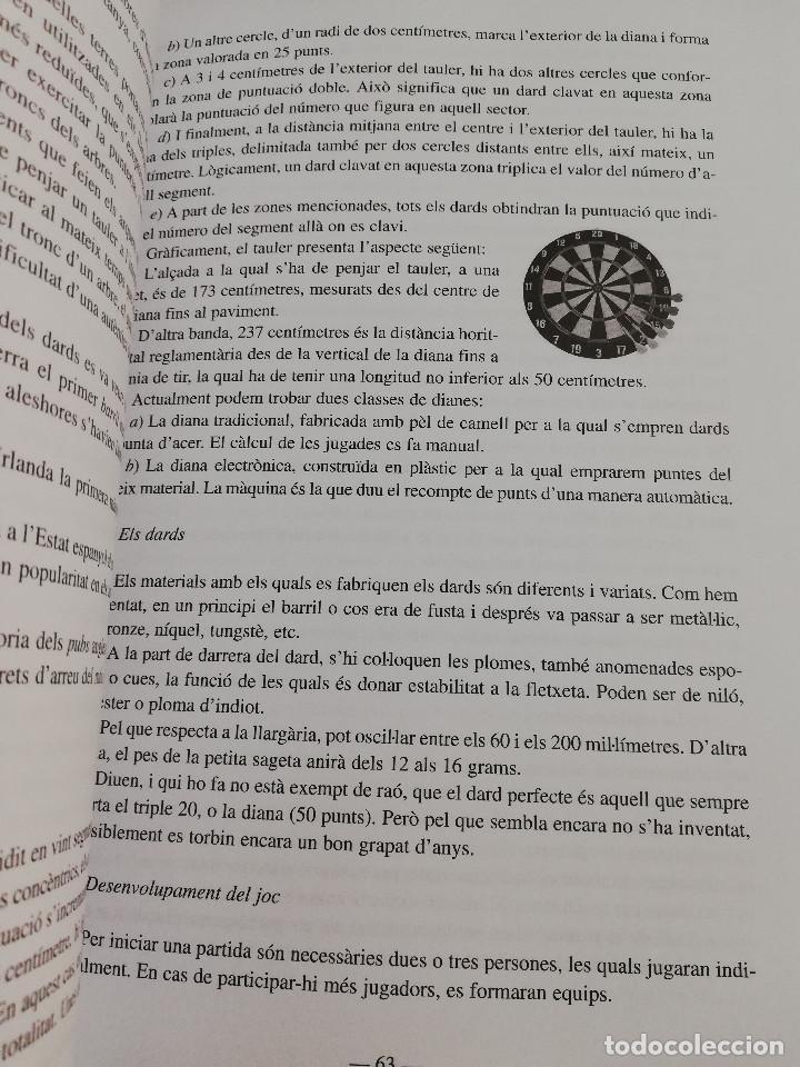 Libros de segunda mano: ELS ESPORTS I JOCS POPULARS TRADICIONALS DE LES ILLES BALEARS (FRANCESC AMENGUAL RIGO) - Foto 9 - 183558151