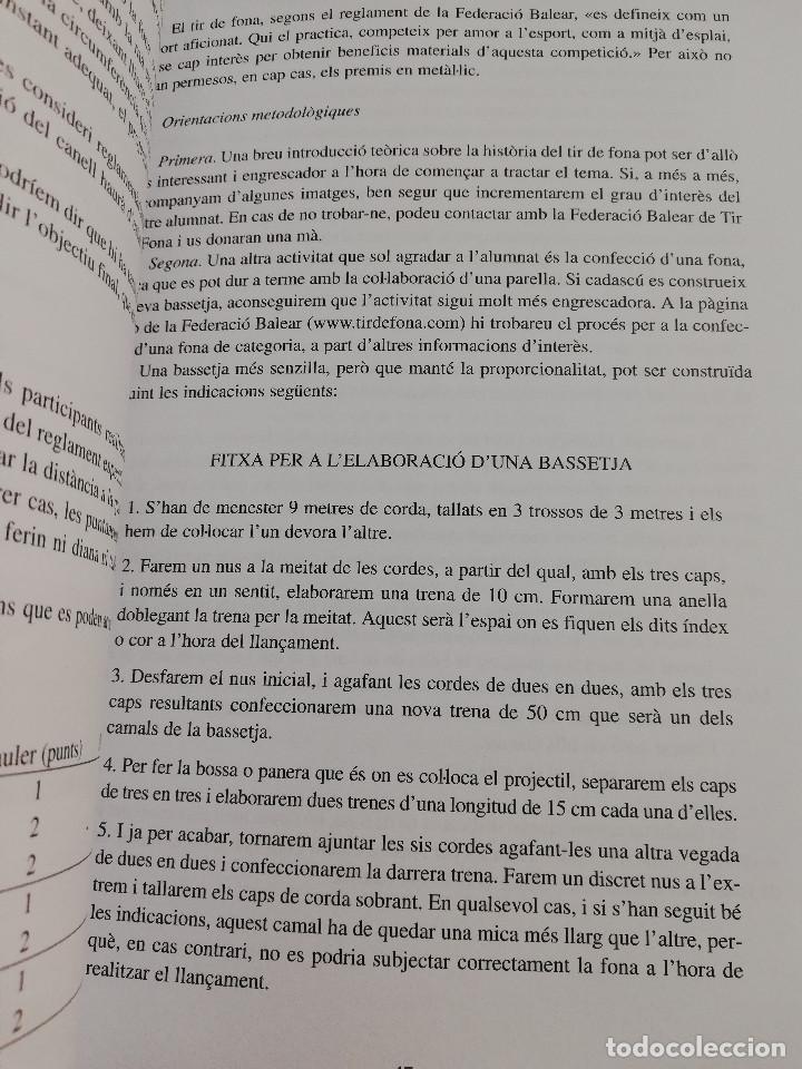 Libros de segunda mano: ELS ESPORTS I JOCS POPULARS TRADICIONALS DE LES ILLES BALEARS (FRANCESC AMENGUAL RIGO) - Foto 10 - 183558151
