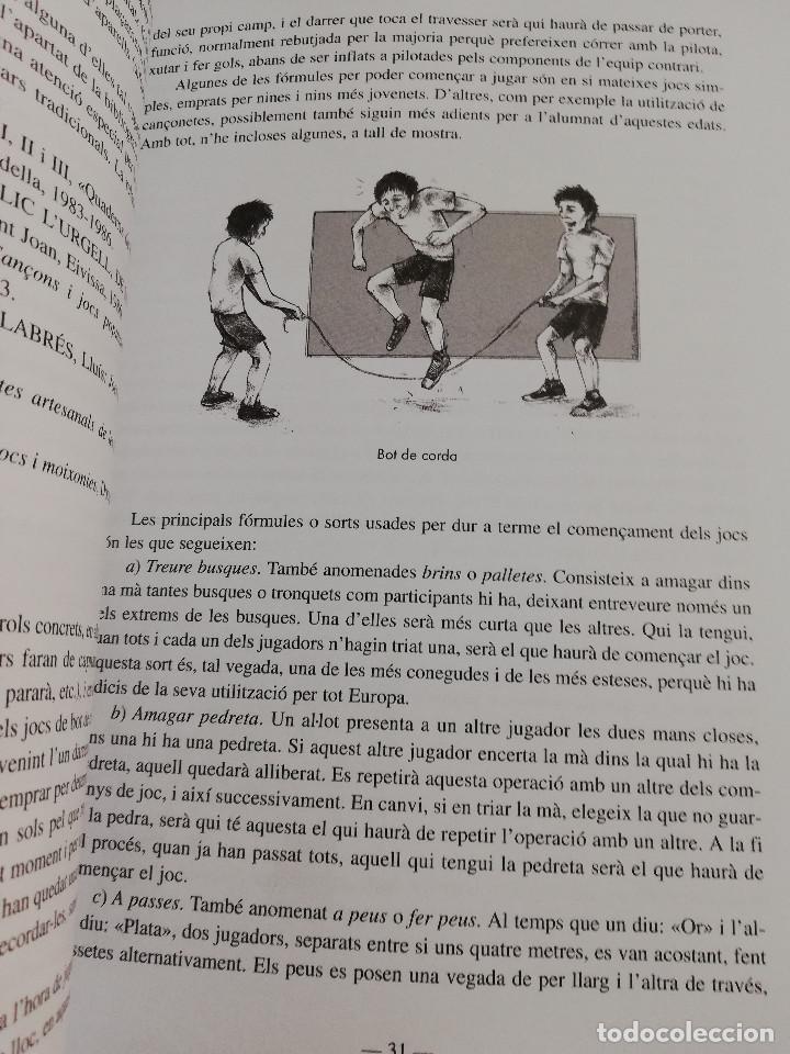 Libros de segunda mano: ELS ESPORTS I JOCS POPULARS TRADICIONALS DE LES ILLES BALEARS (FRANCESC AMENGUAL RIGO) - Foto 11 - 183558151