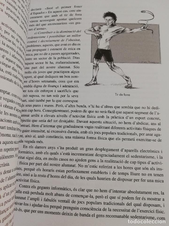 Libros de segunda mano: ELS ESPORTS I JOCS POPULARS TRADICIONALS DE LES ILLES BALEARS (FRANCESC AMENGUAL RIGO) - Foto 12 - 183558151