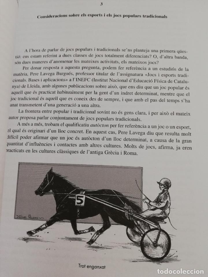 Libros de segunda mano: ELS ESPORTS I JOCS POPULARS TRADICIONALS DE LES ILLES BALEARS (FRANCESC AMENGUAL RIGO) - Foto 13 - 183558151