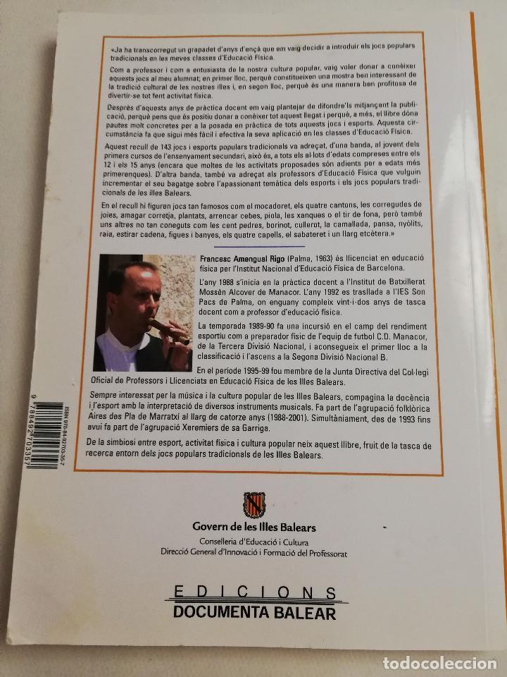 Libros de segunda mano: ELS ESPORTS I JOCS POPULARS TRADICIONALS DE LES ILLES BALEARS (FRANCESC AMENGUAL RIGO) - Foto 14 - 183558151